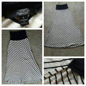 Papaya Dresses & Skirts - ⤵SALE⤵(S) Papaya Stripe Skirt
