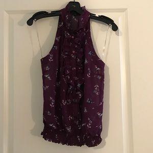 Button up Sleeveless blouse
