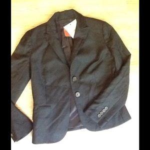 J. Crew navy blazer sz 2p. Lightweight wool.