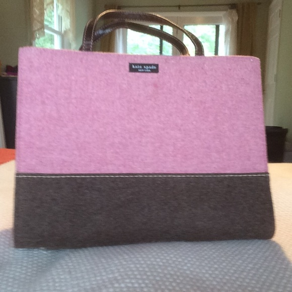 21d3cde1f kate spade Handbags - KATE SPADE wool felt color block handbag
