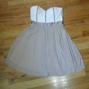 Cute strapless dress