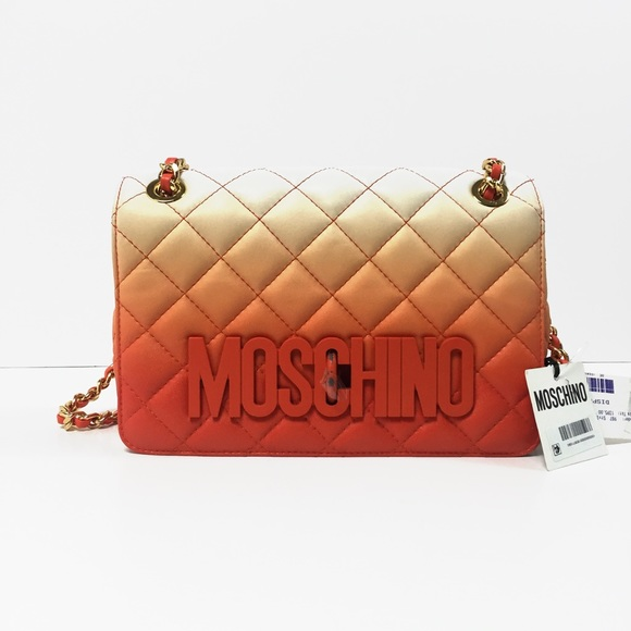3f1eeef795 Moschino Bags   Degrade Quilted Shoulder Bag 1395   Poshmark