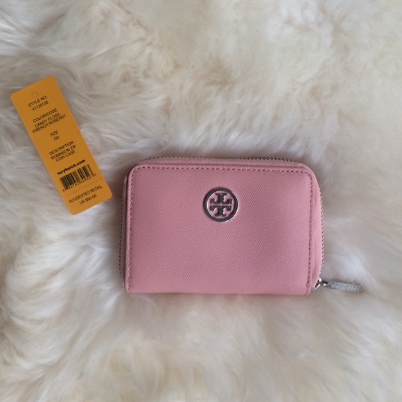 Tory Burch Accessories Tory Burch Robinson Zip Coin Case Poshmark