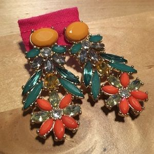 H&M Jewelry - Tropical Statement Earrings