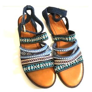 Size 7 Boho Sandals Mari A