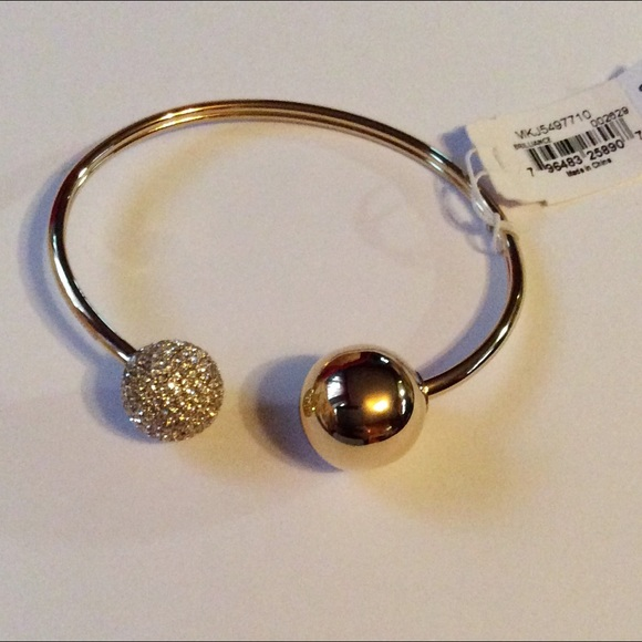 Michael Kors Jewelry - FIRM Michael Kors Metallic Fireball Cuff Bracelet
