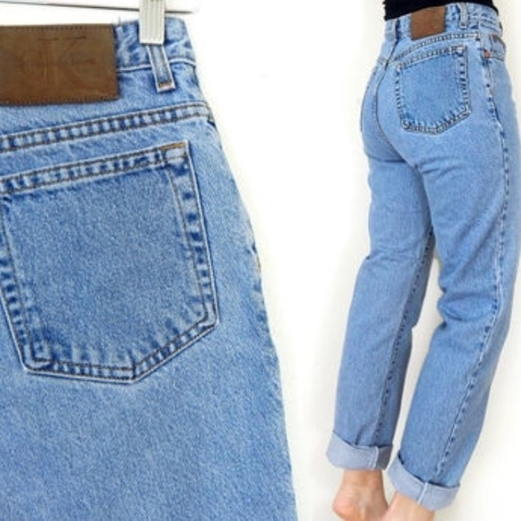 high rise boyfriend jeans - Black Calvin Klein Jeans PDrwP