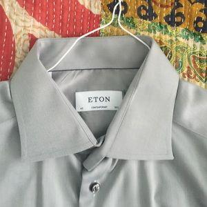 Eton Other - Gorgeous ETON button down. Gray. Barely worn
