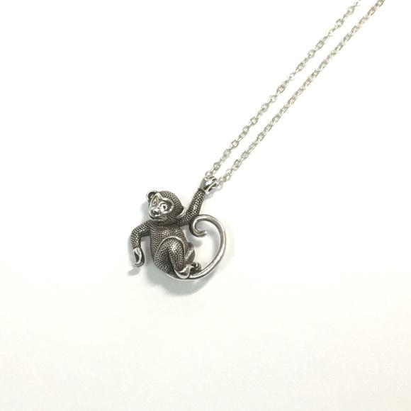 60 off brighton jewelry brighton monkey necklace new from brighton monkey necklace new mozeypictures Images