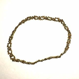 NWT ❤️$5 w Bundle ❤️ Brown n khaki beaded headband