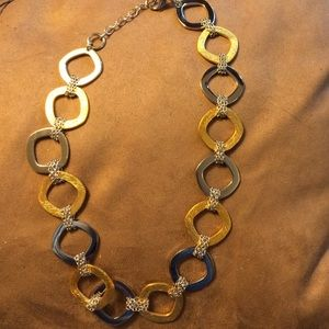 Beautiful stainless steel chain like necklace