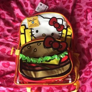 bc30dd8769 Hello Kitty Bags - HELLO KITTY BURGER   FRIES BACKPACK AND LUNCH KIT