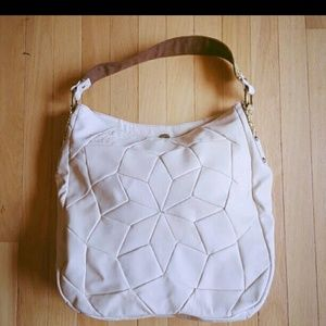 Tracy Reese Handbags - Sale! Creme Leather Hobo byTracy Reese