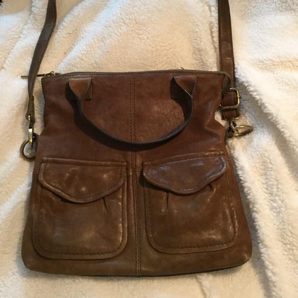 0987ee5db4 Fossil Handbags - Fossil foldover crossbody bag