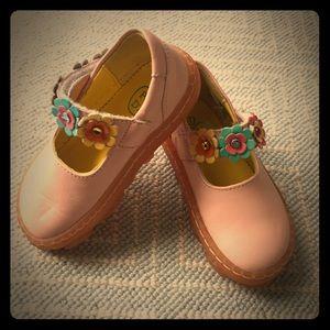 Pom D'Api Shoes - Toddler Pom D'Api Velcro Mary Janes