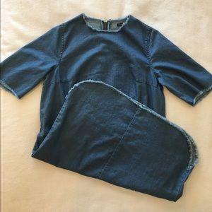 whowhatwear Dresses & Skirts - New Jean dress. Jean is in!