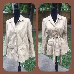 Motherhood Jackets & Blazers - Before, During & After Motherhood Khaki Jacket