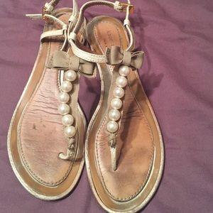 Kate Spade Pearl Sandals