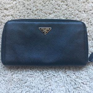 9f30eaa6461e0e Prada Bags | Authentic Nylon Zip Around Wallet | Poshmark