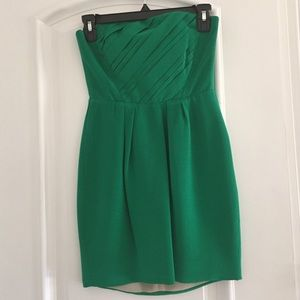 "Naven Dresses & Skirts - Naven Green Strapless ""Foxy"" Dress Size XS"