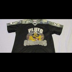 Disney Pluto Football Jersey Youth Size Large