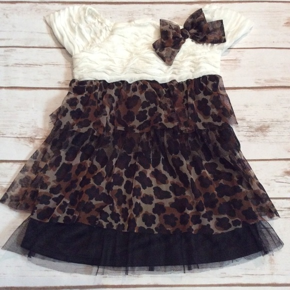 Youngland Dresses Nwot Baby Girl Leopard Dress 18 Months Poshmark