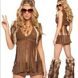 Other - SOLD HALLOWEEN Hippie GoGo Dancer Costume