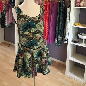 Floral print free People Tunic