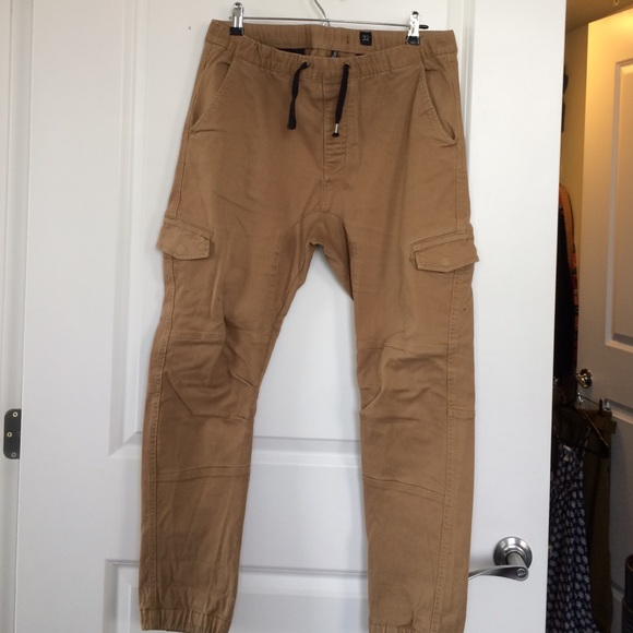 Cotton On - Cotton On Cargo Slim Jogger Pants in Khaki from ...