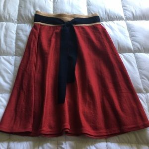 Anthropologie Girls from Savoy Knit Skirt
