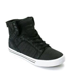 Supra Shoes - BNWT Boxed Black Snake Supra Skytop SZ 9