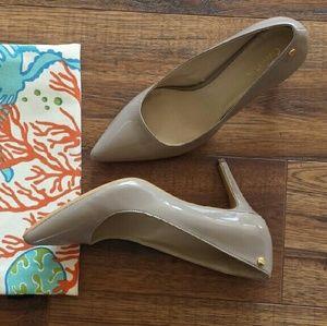 Calvin Klein Taupe Heels