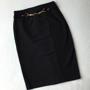 Carmen Marc Valvo Pencil Skirt