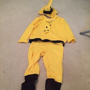 Other Man In The Big Yellow Hat Costume Adult Size Poshmark