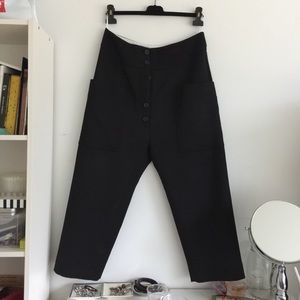 Celine drop crotch pants from ss16