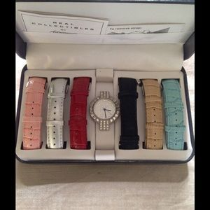 Adrienne Jewelry - New Battery-Real Collectibles Interchangable Watch