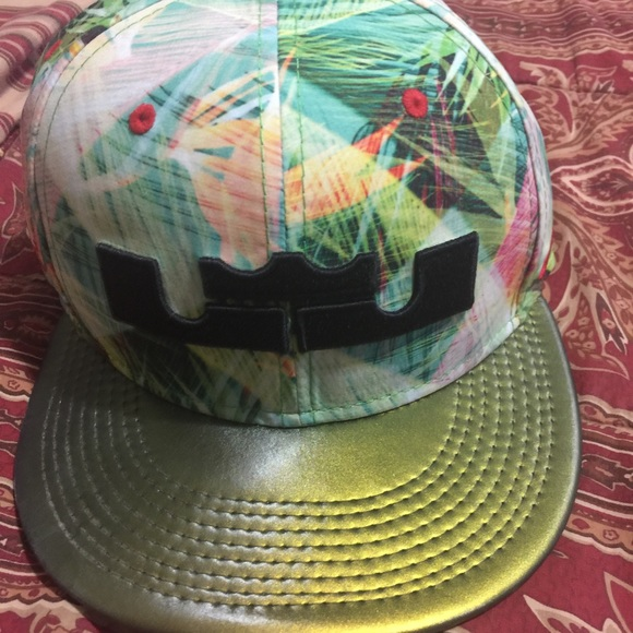 47101912f9ada Lebron James limited edition hat