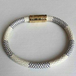 Louis Vuitton Leather Bracelet!