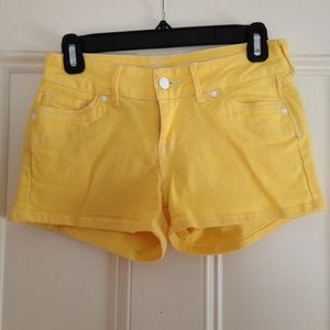 delia's Pants - Yellow Shorts From Delia's