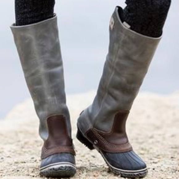 49 Off Sorel Shoes Sorel Slimpack Riding Boot From