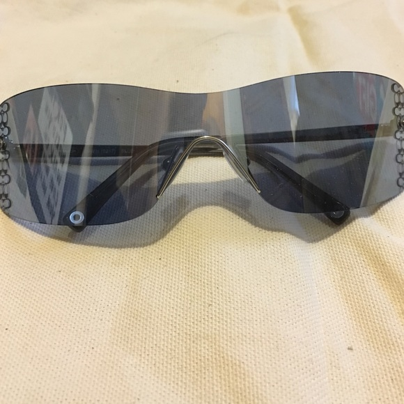 Coach Accessories - Blue Mirrored Coach Sunglasses