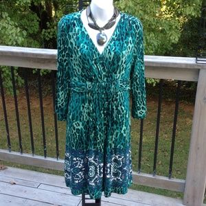 Soma Dresses & Skirts - Animal print dress