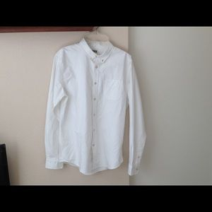 Edwin Other - Edwin Button Down Oxford Shirt White