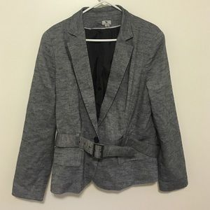 Worthington Jackets & Blazers - Women's suit jacket/blazer with belt