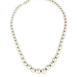 Tiffany & Co. Silver Tiffany Beads Necklace