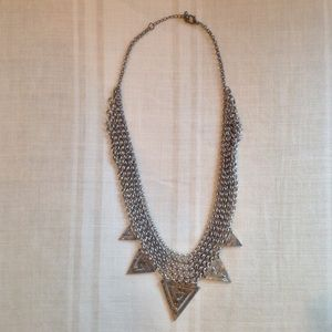 Urban Outfitters : Silver Statement Necklace
