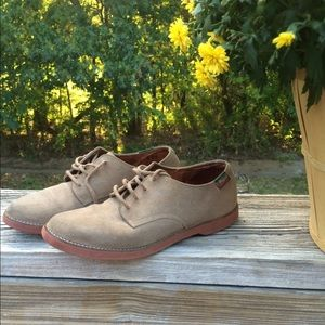 Bass Shoes - Suede Bass Oxfords