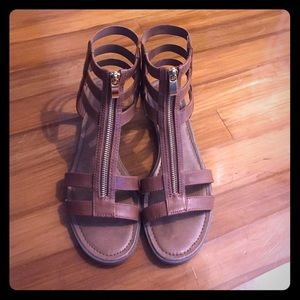 Shoes - Adorable Merona Zip-Up Gladiator Sandal