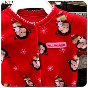 'Baby's First Christmas' Sleeper! NWT!