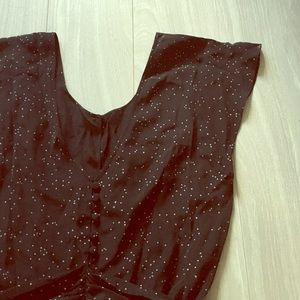French Connection stars dress NWT